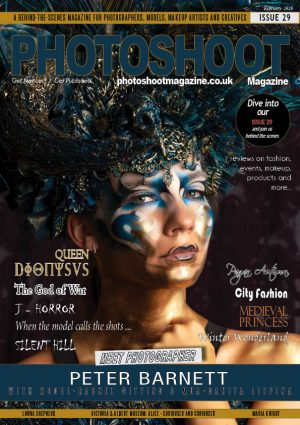 Issue 29 PHOTOSHOOT Magazine Front Cover