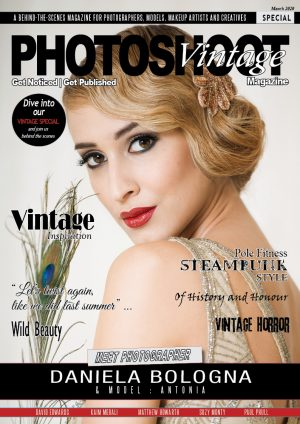 VINTAGE Themed Special Front Cover