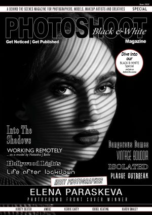Black and White Photography Magazine Front Cover_ELENA PARASKEVA